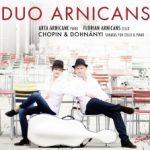 {:de}Duo Arnicans - Werke fuer Piano und Violoncello von Dohnanyi und Chopin{:}{:en}Duo Arnicans - Werke fuer Piano und Violoncello von Dohnanyi und Chopin{:}