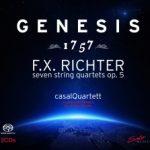 {:de}Casal Quartett - Genesis 1757 - F. X. Richter{:}{:en}Casal Quartett - Genesis 1757 - F. X. Richter{:}