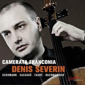 {:de}Denis Severin & Camerata Franconia - Schumann / Cassadó / Fauré / Rachmaninov{:}{:en}Denis Severin & Camerata Franconia: Schumann / Cassadó / Fauré / Rachmaninov{:}
